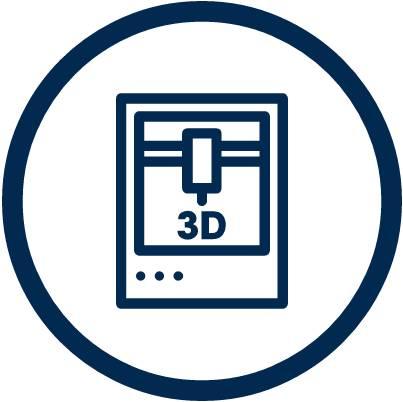 Símbolo impresión 3D