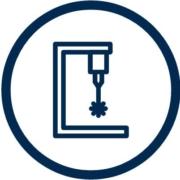 Símbolo grabado láser