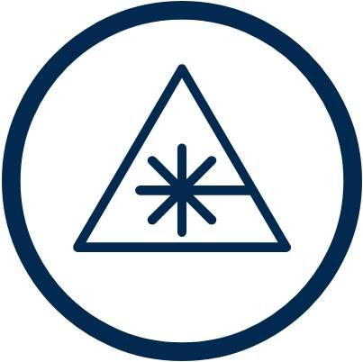 Símbolo soldadura láser