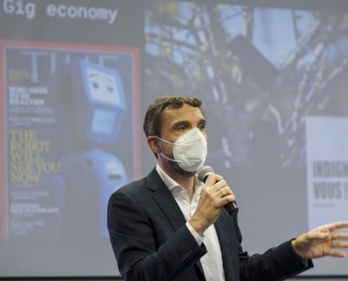 Ponente de la conferencia de innovación