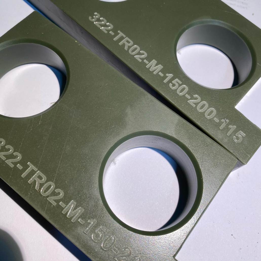 Marcaje láser en material plastico soder-ol